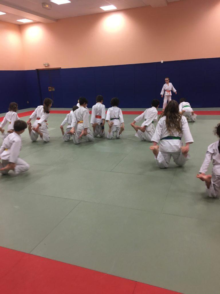 Judo enfant entraînement commun